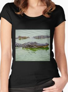 Alligators Women's Fitted Scoop T-Shirt