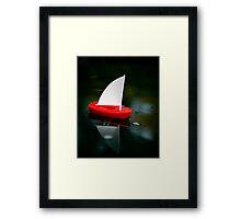 Born sailor Framed Print