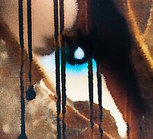 Blue eyes- black tears by sheisme