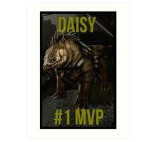 Evolve - Daisy Art Print