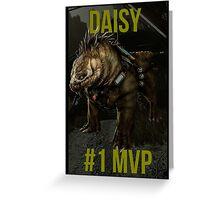 Evolve - Daisy Greeting Card