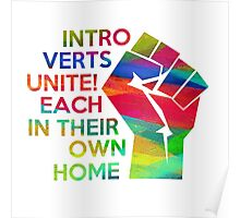 Introverts unite!  Poster