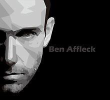 Ben Affleck portrait by Madiaz