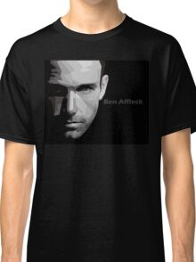 Ben Affleck portrait Classic T-Shirt