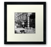 NY Icons Framed Print