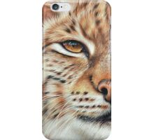 Faces of the wild - Lynx iPhone Case/Skin