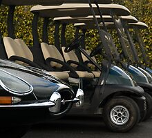 E Type, The Fastest Golf Cart in the West by Matthew Walters