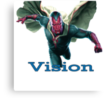 Vision-The Avengers  Canvas Print