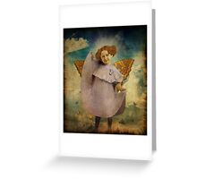 Tuesday's Child Is Full Of Grace Greeting Card