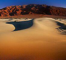 Sunset at Death Valley by MattGranz