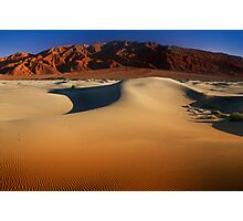 Sunset at Death Valley Photographic Print