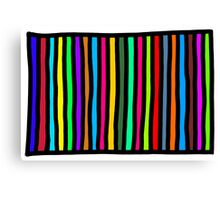 Nice and Stripey Canvas Print