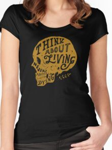 Think About Living Women's Fitted Scoop T-Shirt