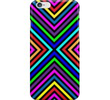 Varicolored squares, lines.  iPhone Case/Skin