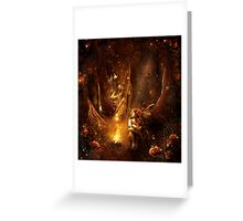 Dance of the butterflies Greeting Card
