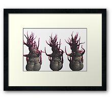 The Three Uglies Framed Print