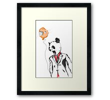 Mad Panda Framed Print