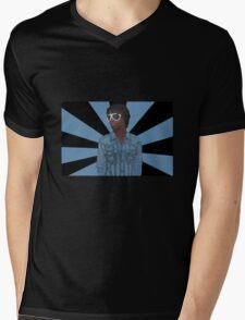 Chief Keef Pop Art Mens V-Neck T-Shirt