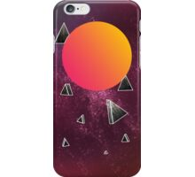 Space triangles  iPhone Case/Skin