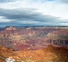 Grand Canyon Desert View Watchtower area by Jeffrey  Snowden