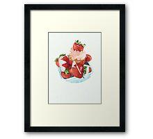 EAT Framed Print