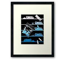 Tshirt Heisenberg - Tshirt Blue Meth Framed Print