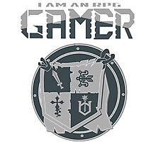 I am an RPG Gamer Tee Photographic Print