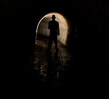 Mysterious Figure In The Dark by Jane Keats