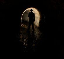 Mysterious Figure In The Dark by Jane Keats