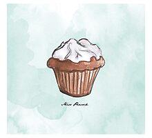 Petit cupcake Photographic Print