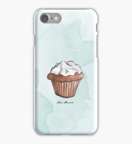 Petit cupcake iPhone Case/Skin
