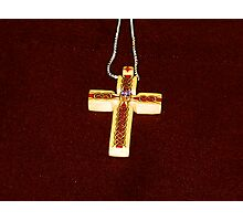 carol's cross Photographic Print