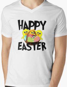 Happy Easter Mens V-Neck T-Shirt