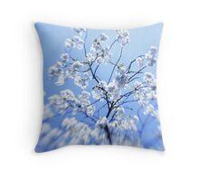 monday blossom Throw Pillow