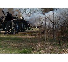 civil war re-enactment Photographic Print