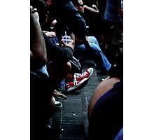 red kicks Photographic Print