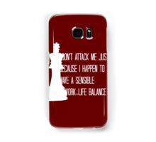 The King is Always Right Samsung Galaxy Case/Skin