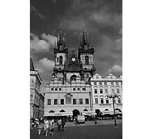 The Church of Our Lady before Teyn No. I Photographic Print