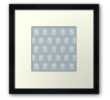 Elephants come in Pairs Framed Print