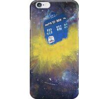 Blue Police Box  iPhone Case/Skin