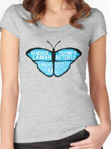 To Pimp a Butterfly Women's Fitted Scoop T-Shirt