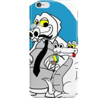 Rick the chick - Daddy croc iPhone Case/Skin