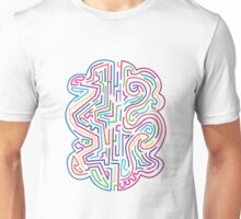 The coloured pattern. Unisex T-Shirt