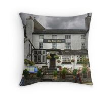 The Sun Inn, Hawkshead Throw Pillow