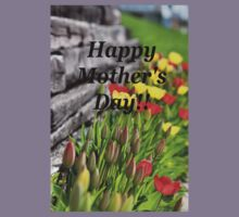 Mother's Day Tulips Kids Clothes