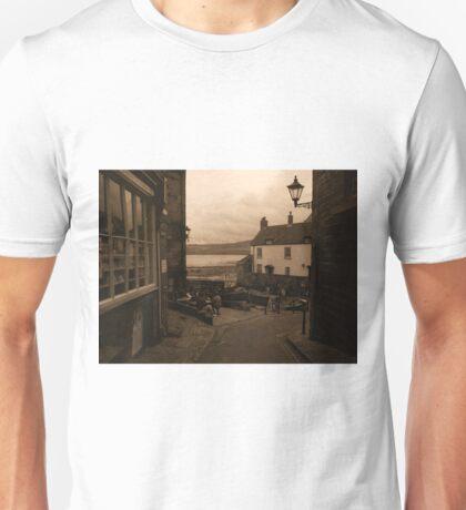 Robin Hood's Bay | Texture Unisex T-Shirt