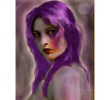 Vampyra - La Belle de Nuit Photographic Print