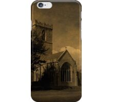 The Parish Church of St Andrew | Texture iPhone Case/Skin