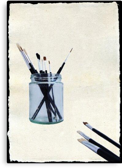 Blank Canvas | Black by Sarah Couzens