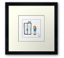 Short Problems Framed Print